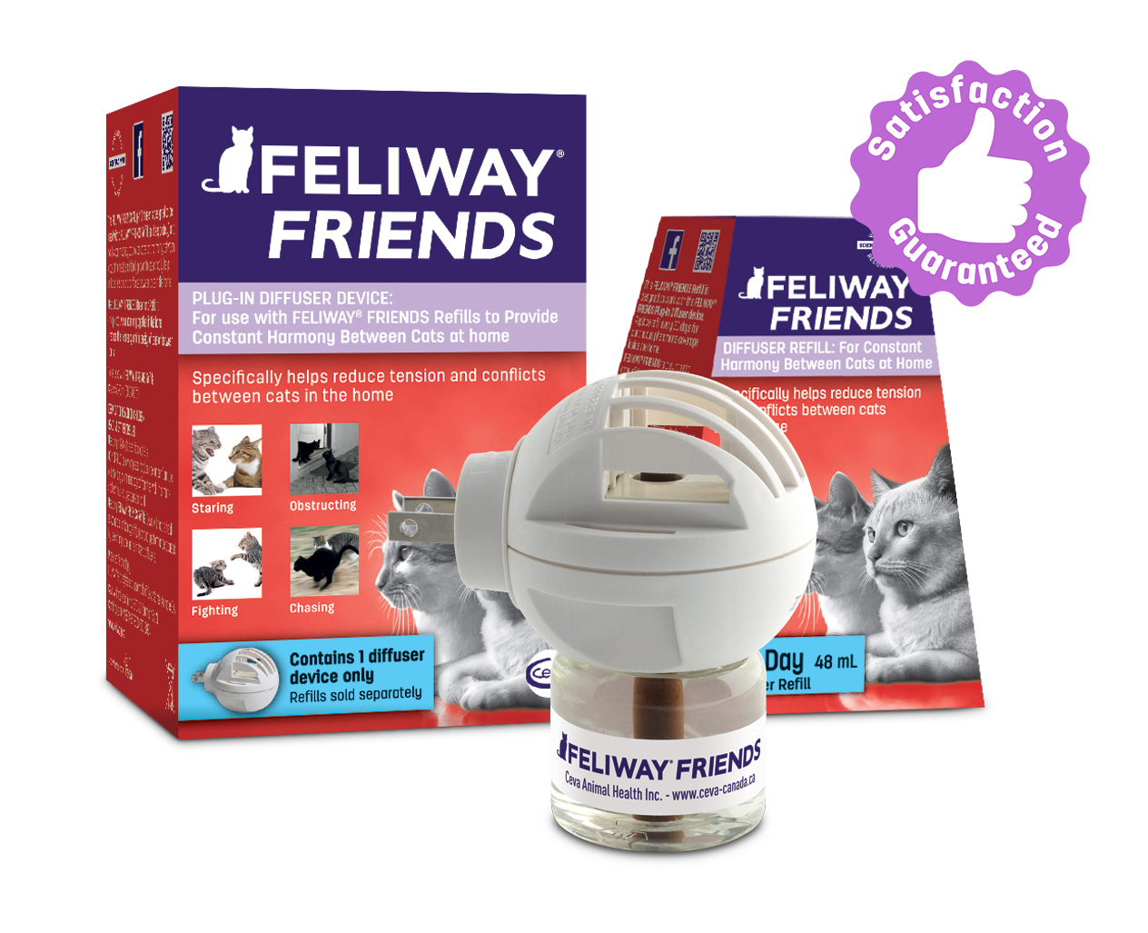 Feliway Friends diffuser for cats