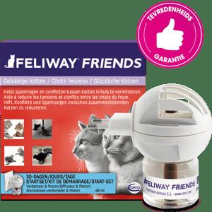FELIWAY FRIENDS vermindert conflicten tussen katten