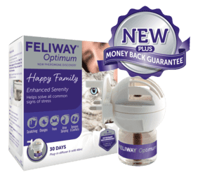 Feliway Optimum supporta i gatti in casa